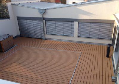 Terrassenbelag mit WPC-Dielen
